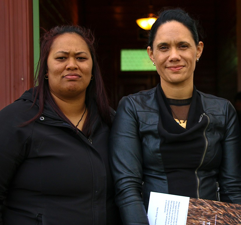From left: Teri Whaiapu, Lisa Gardiner, Weka Pene